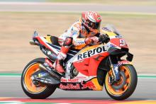 Marquez clears off for Aragon MotoGP victory ahead of Dovizioso