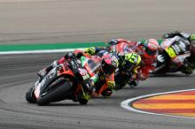 Best of season but Espargaro, Aprilia 'suffering'