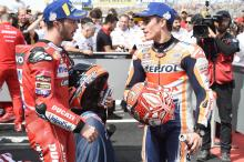 Dovizioso: It's painful, we can only say 'congratulations'
