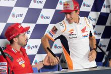 Dovi: Marquez fast, but not like Aragon