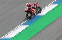 Dovizioso leaves it late to lead drying FP3