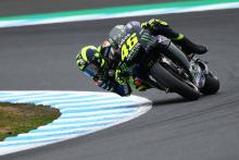 Rossi explains exhaust, swingarm change