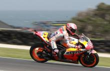 Marquez: Winds were onthe limit for safety