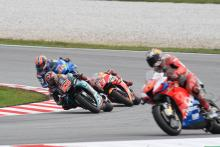 Quartararo: Marquez tactics part of the game