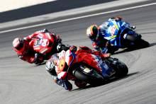 Miller: Losing front, guys running into me – strange race