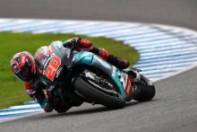 Quartararo 'not as comfortable, but pace is there'