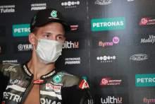 Quartararo loses appeal, misses start of FP1
