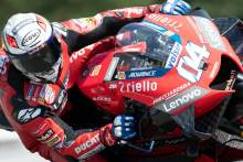 Dovizioso focused on race pace as 2019-spec Zarco flies Ducati flag