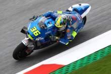 Mir puncaki pemanasan pagi jelang MotoGP Austria
