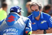 Joan Mir, Davide Brivio, Emilia Romagna MotoGP. 20 September 2020
