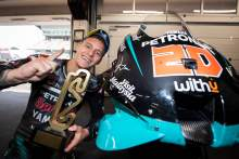 Fabio Quartararo, Catalunya MotoGP race. 27 September 2020