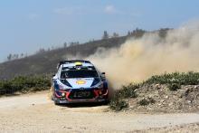 Rally Italia Sardegna - Classification after SS5