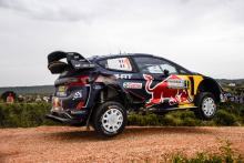 Rally Italia Sardegna - Klasifikasi setelah SS9