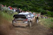 Rally Italia Sardegna - Klasifikasi setelah SS16