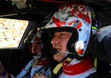 Ostberg leads Citroen domination, Ogier on course for WRC title