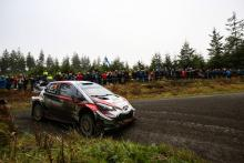 Tanak heads Evans as Ogier hits gearbox trouble