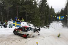 Tanak eases clear as Suninen slips back