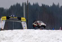 Rally Sweden - Klasifikasi setelah SS16