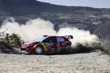Rally Mexico - Klasifikasi setelah SS12