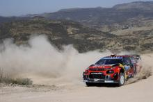 Ogier takes over Rally Mexico lead as rivals falter