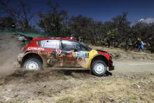Ogier recovers from puncture to regain Rally Mexico lead