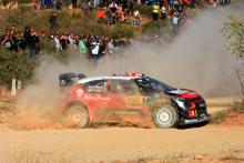 Meeke keeps lead in Spain from Ogier