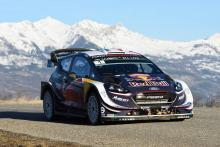 Rallye Monte-Carlo - Klasifikasi setelah SS10