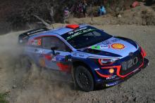 Rally Mexico - Klasifikasi setelah Hari 1, SS10 (15 Teratas)