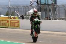 Jonathan Rea celebrates winning 100 WorldSBK races, Aragon WorldSBK 2021
