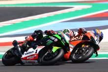 Michael Ruben Rinaldi and Jonathan Rea, Misano WorldSBK race1, 2021