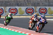 Toprak Razgatlioglu, Michael Ruben Rinaldi, Misano WorldSBK superpole race2021
