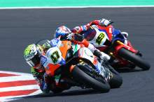 Best weekend yet for rookie Bassani, Italian takes three top tens at Misano