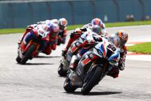 'Quite fun' Superpole race sees Van Der Mark claim first BMW podium