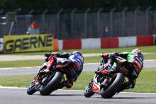 Rea 'frustrated' by race two crash; 'It's a bittersweet day'