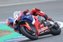 Bautista 'fine' after fast crash, Haslam P4 in 'strong' opening day for Honda