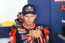 Bradl out of Portimao race two