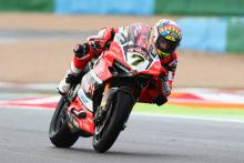 Davies wins as World Superbike champion Rea DNFs
