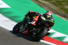 Rea storms to Imola pole position