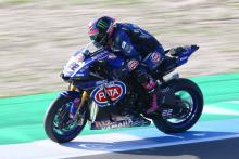 Lowes storms to maiden pole position at Assen