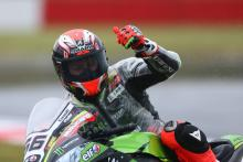 Sykes strikes back in drying session