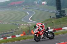 Laverty forced out by stuck throttle for Milwaukee Aprilia