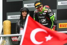Razgatlioglu makes World Superbike history with maiden rostrum