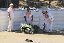 Razgatlioglu out of Laguna Seca race two with broken toe