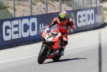 Davies 'back at the sharp end' after recent struggles