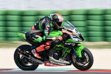 Sykes snatches pole from Rea at Misano