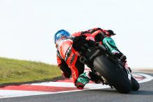 Melandri edges out Rea in final practice