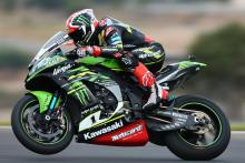 Rea ominous ahead of Melandri in warm-up
