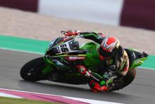 Qatar WorldSBK: Sykes takes pole on Kawasaki farewell