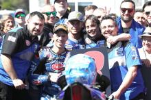 Yamaha 'surprised but respect' Melandri retirement call