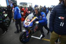 Assen World Superbike race one cancelled by snow